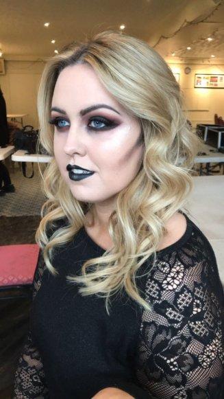 make up shoot x